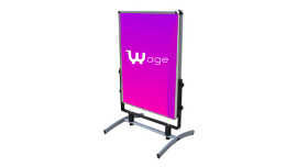 Swing Poster Stand Dupla Face