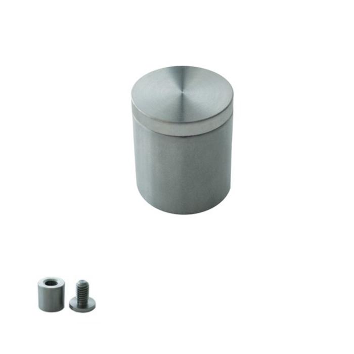 Afastadores de Parede Aluminio para Acrilico / pvc und