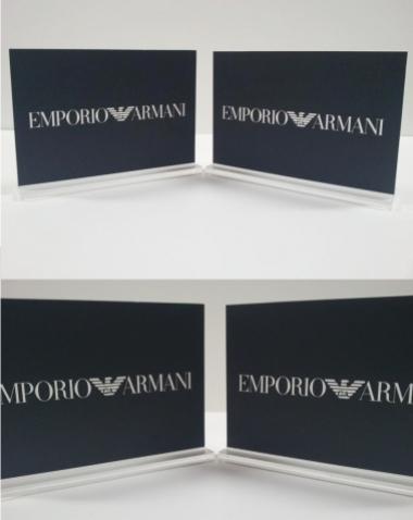 Placas Identificativas em Acrilico